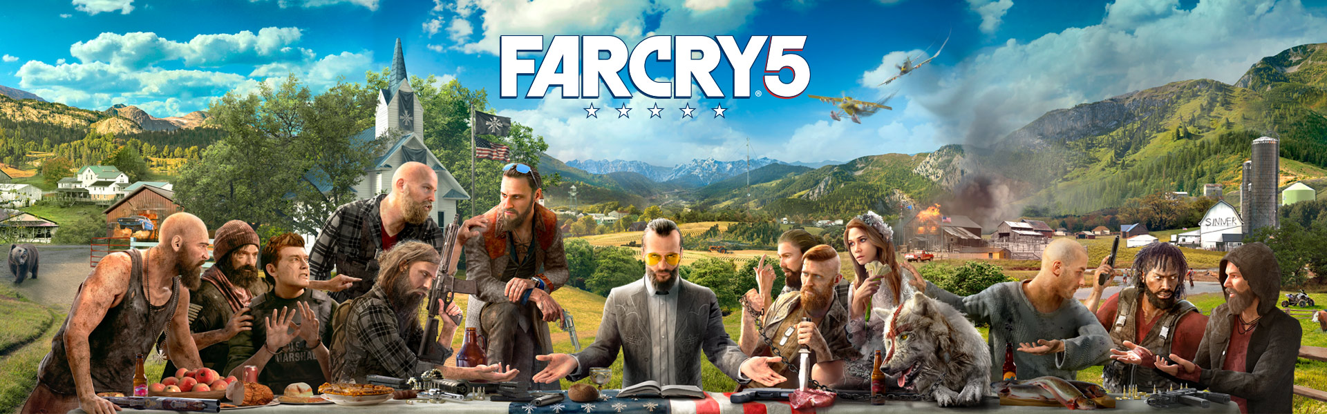 کاور بازی farcry 5 برای ps4