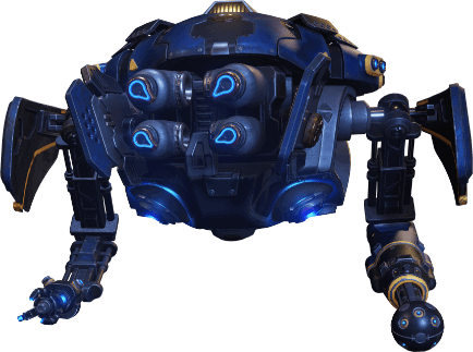 Gears 5 flying robot